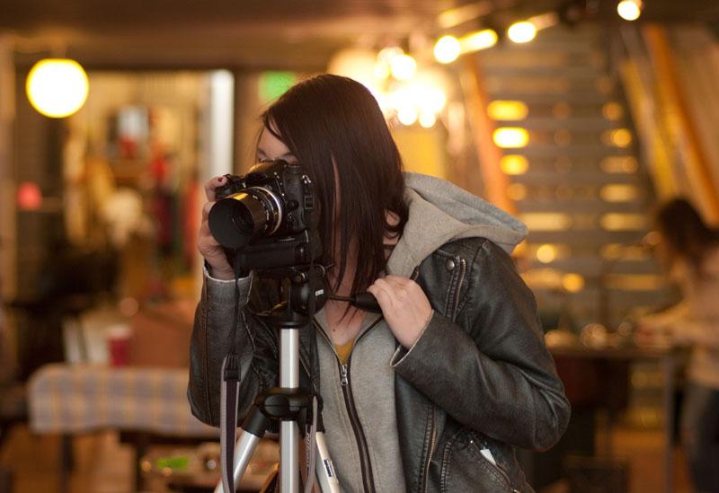カメラマンに撮影してもらうのも一つ